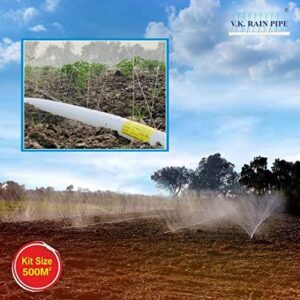 Everything about Rain pipe irrigation system