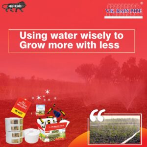 USING WATER WISELY TO GROW MORE WITH LESS